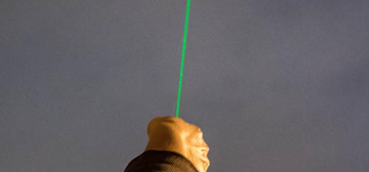 Jego Świetlistość YL-301 czyli zielony wskaźnik laserowy i jego astro możliwości