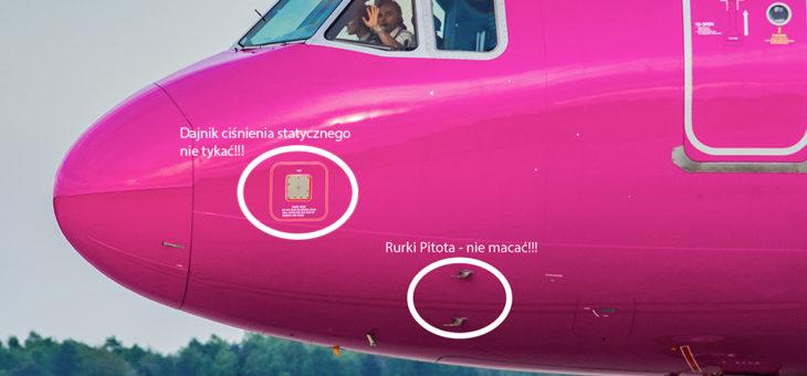 A ile to ten samolot wyciąga??? Jak to jest lecieć z różnymi prędkościami w tym samym momencie