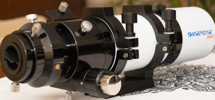 Newton na emeryturze czyli testy nowego astro-sprzętu